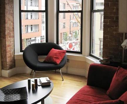 Duncanson Lofts Living Room Window