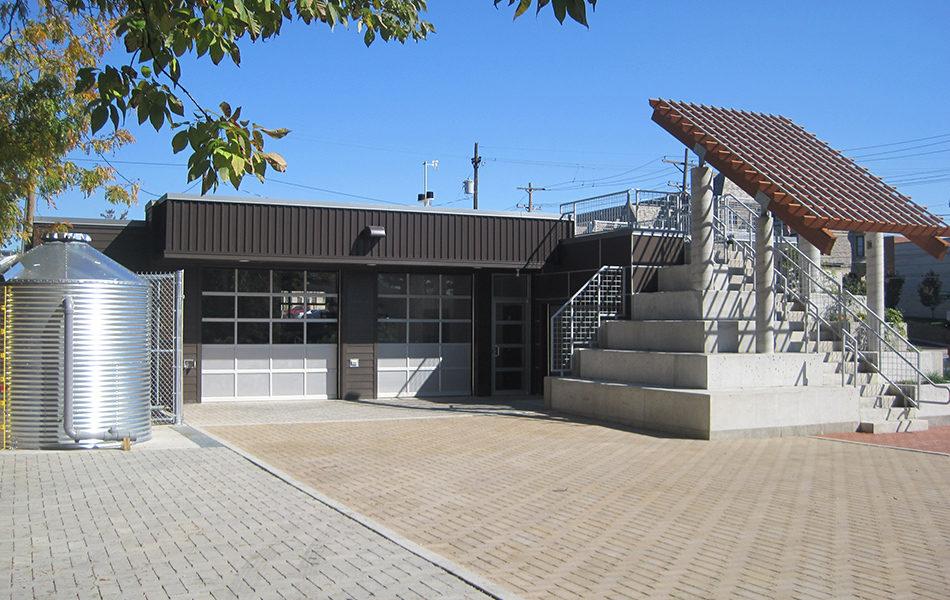 Civic Garden Center alternate back view