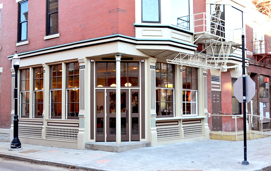 Salazar Restaurant Exterior