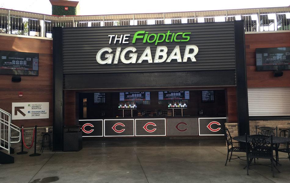 Fioptics Gigabar wide view