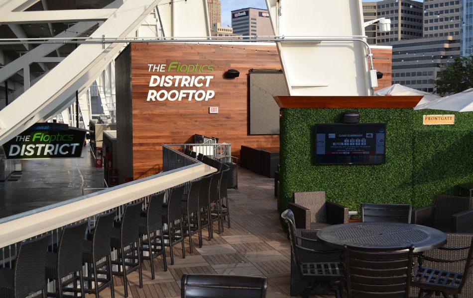 Fioptics rooftop bar