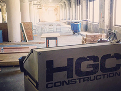 HGC construction site