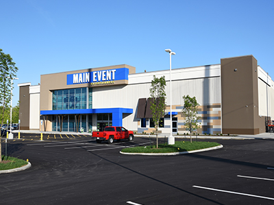 Main Event Entertainment Exterior