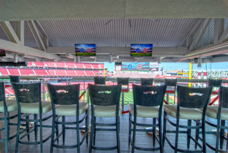 Great American Ball Park Handlebar stools