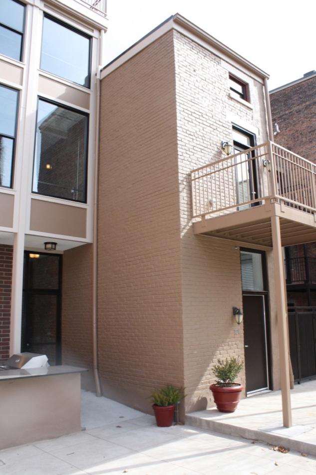 Parvis Lofts exterior, renovated