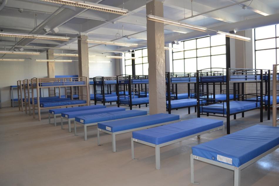 Barron Center interior beds