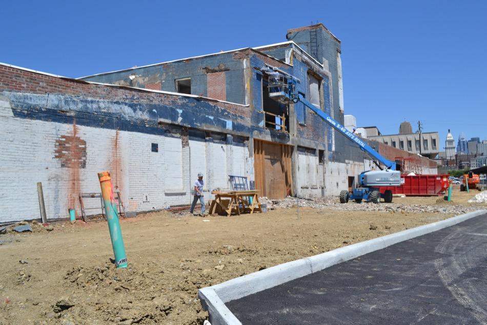 Barron Center Construction