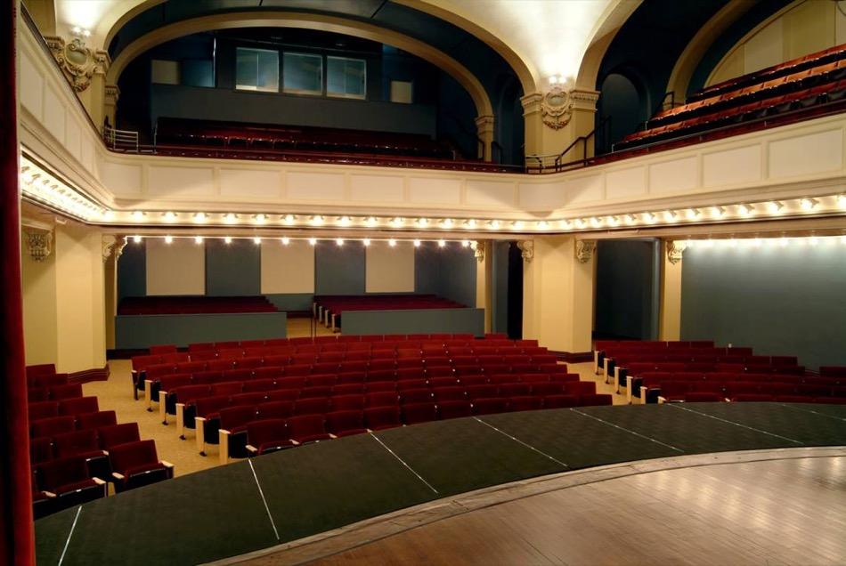 Carnegie Visual and Performing Arts Center auditorium