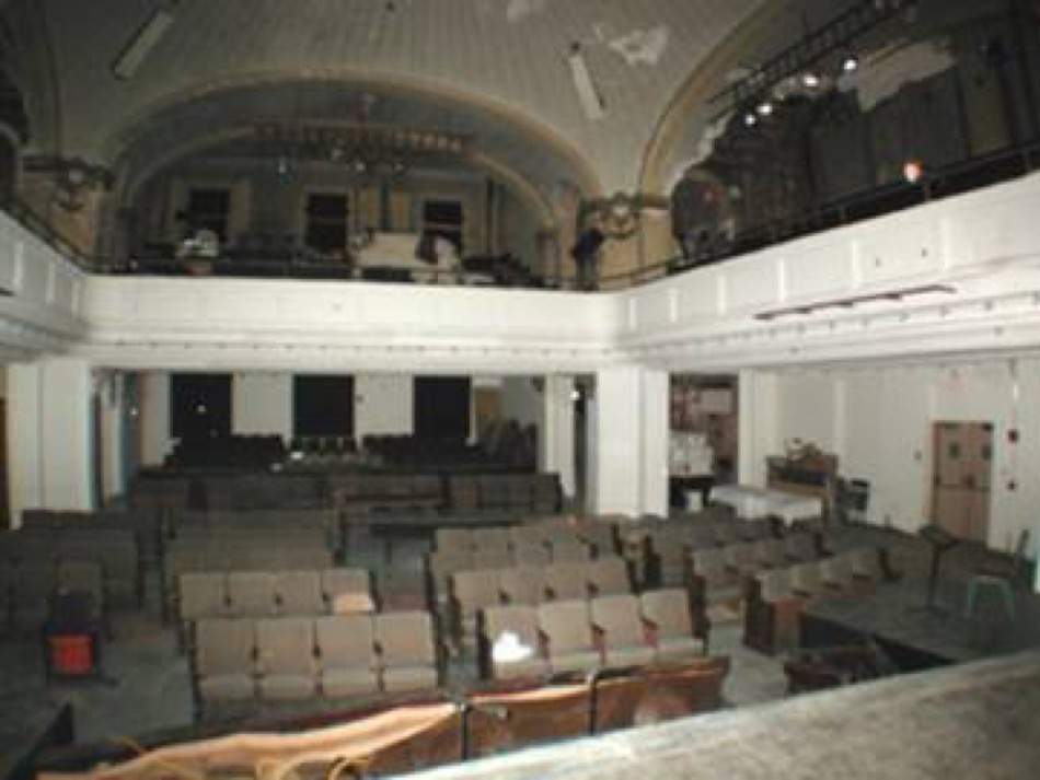 Carnegie Visual and Performing Arts Center before renovation
