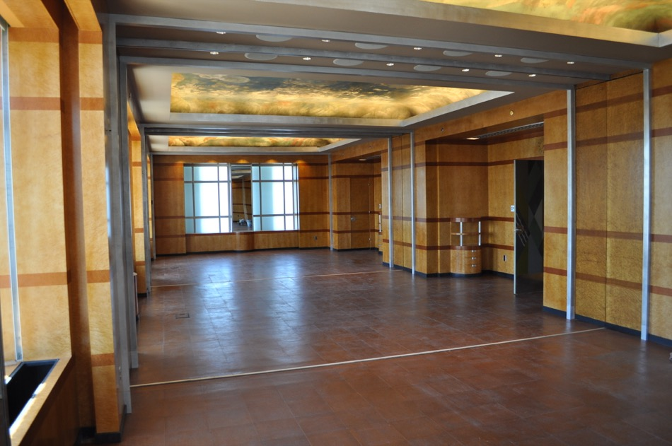 Cincinnati Museum at Union Terminal renovated hallway