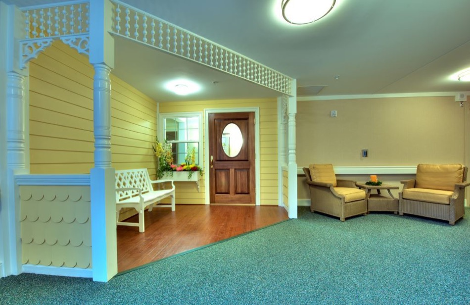 Artis Senior Living of Mason interior lobby