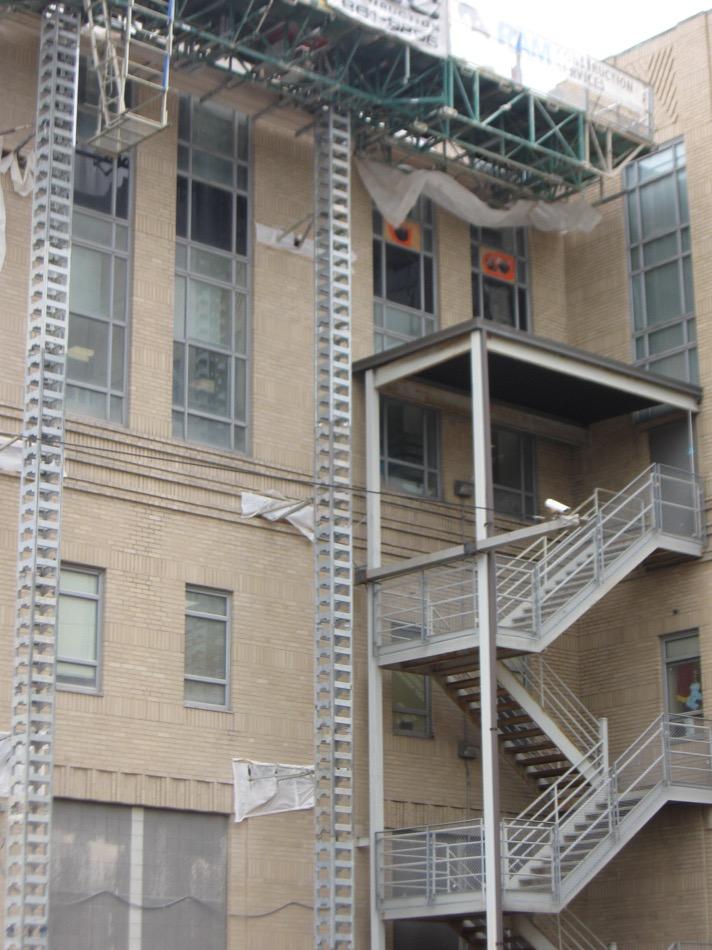 Cincinnati Museum at Union Terminal exterior under construction