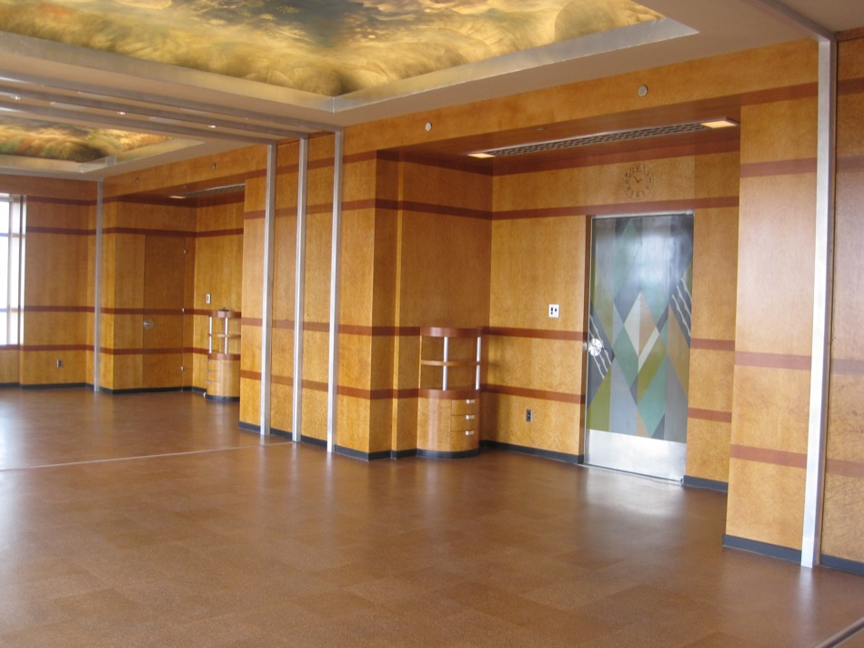 Cincinnati Museum at Union Terminal renovated lobby