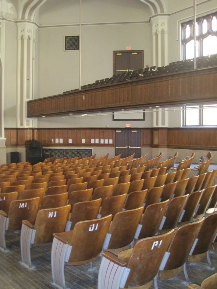 Hughes STEM High School Renovation Auditorium