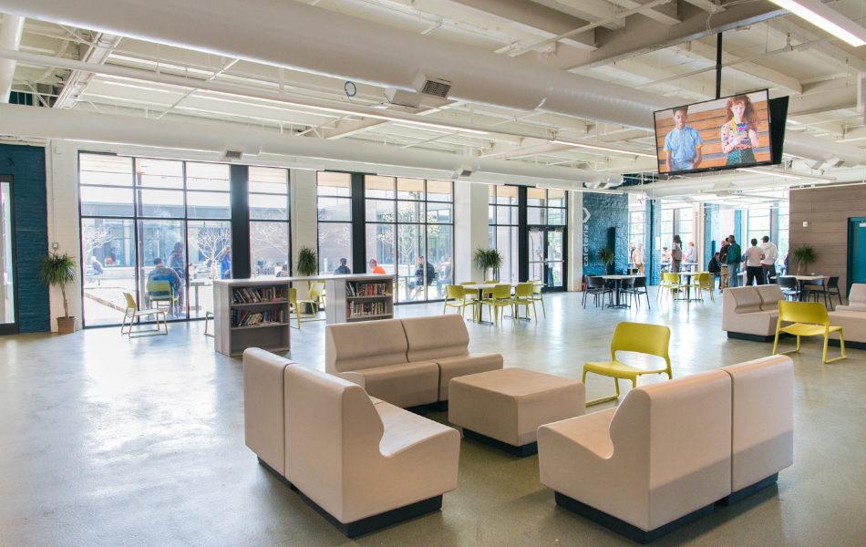 Barron Center lobby