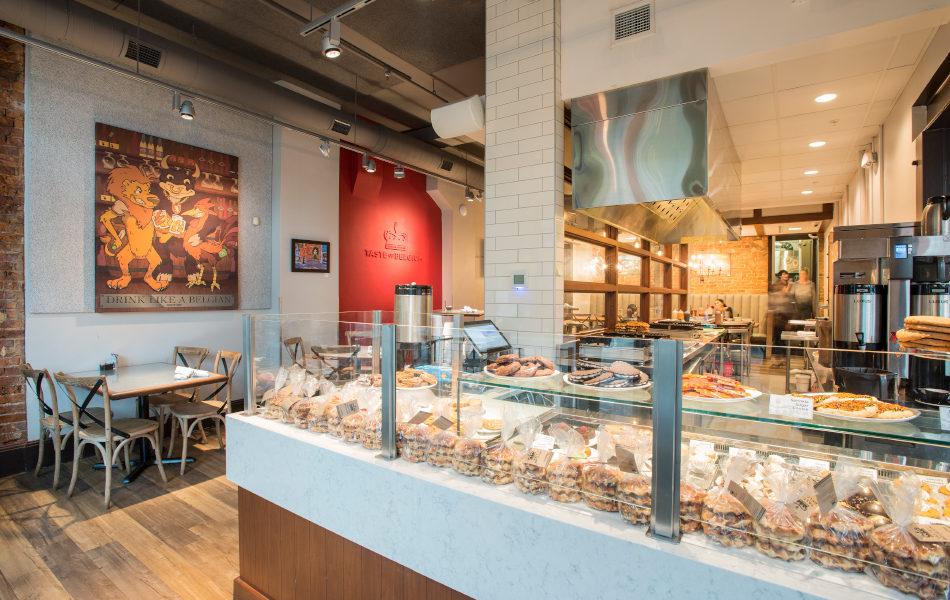 Interior Taste of Belgium in OTR