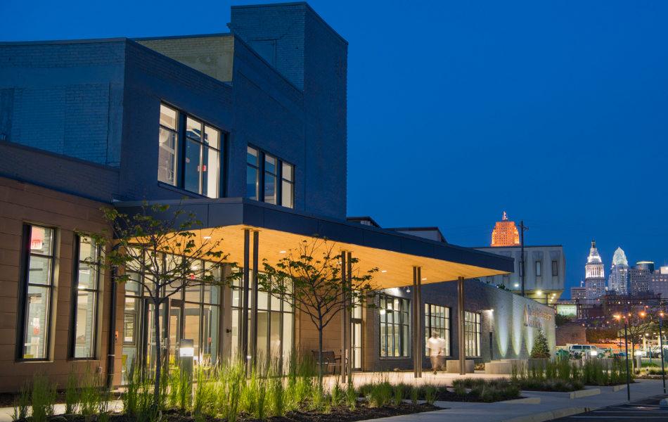 Barron Center exterior