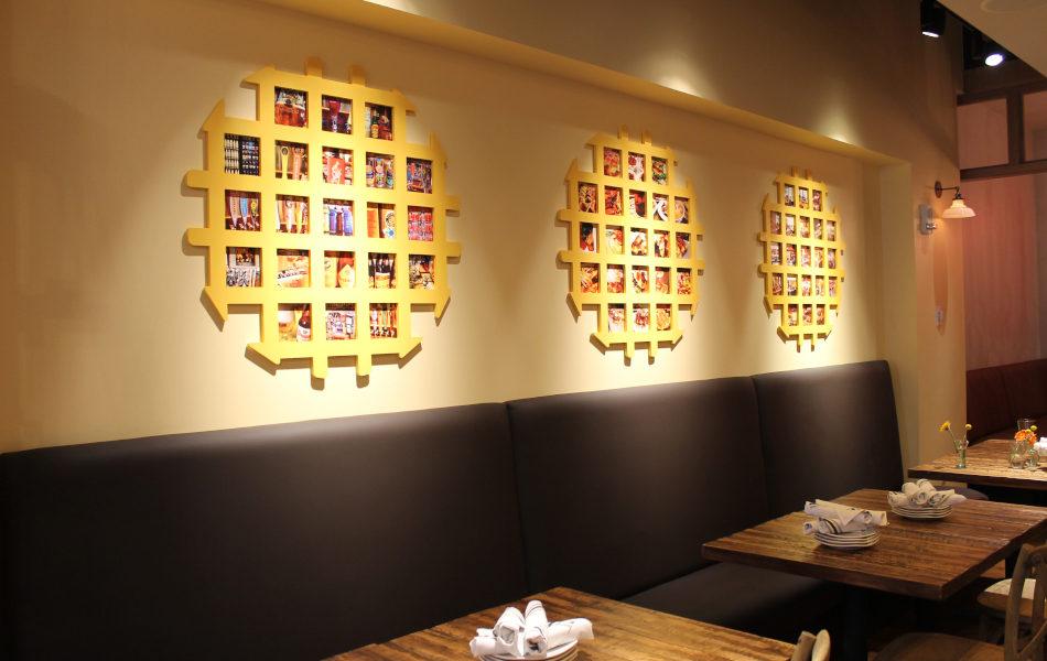 Interior, Taste of Belgium in Rookwood