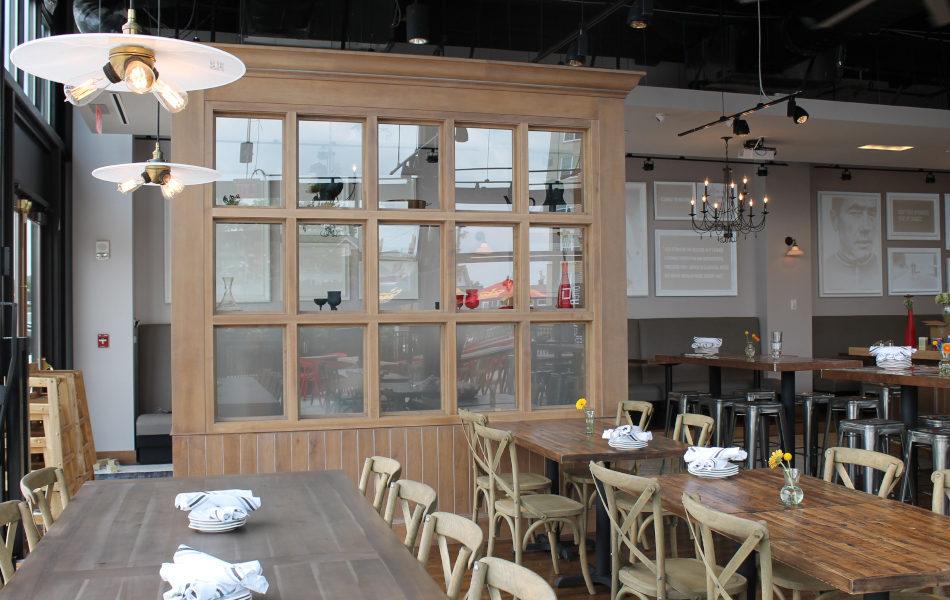 Interior of Taste of Belgium in Rookwood