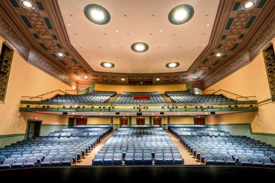 walnut hills high school renovation, auditorium