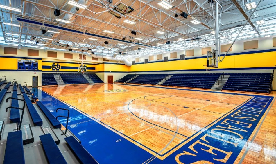 walnut hills high school renovation gymnasium