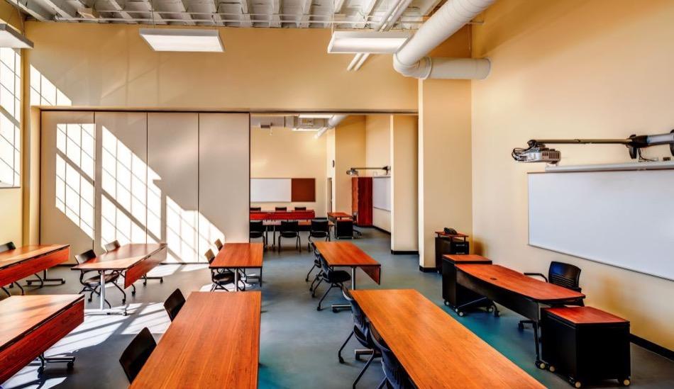 walnut hills high school renovation classroom