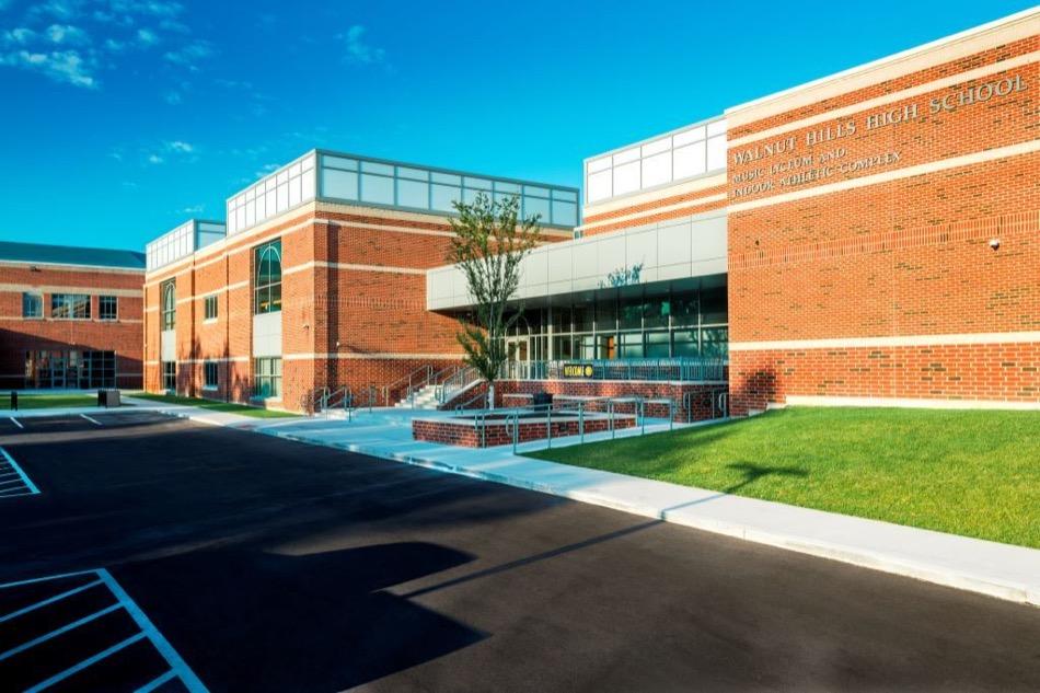 walnut hills high school renovated exterior