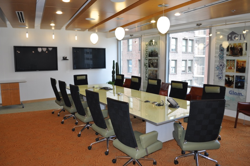 Scripps Network Interactive conference room