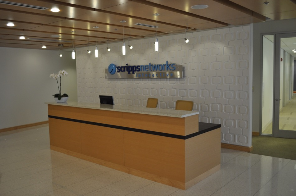Scripps Network Interactive welcome desk