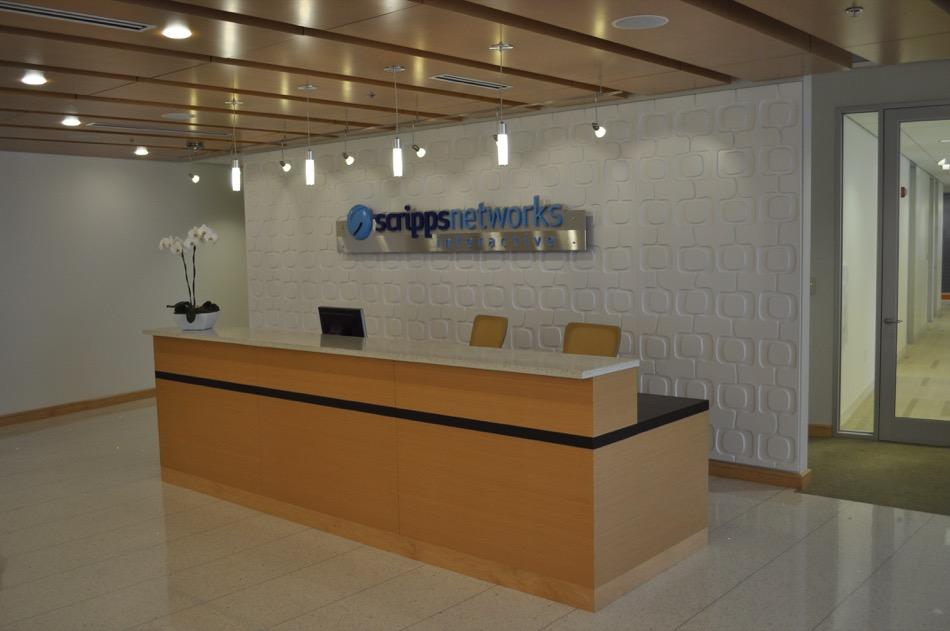Scripps Network Interactive welcome desk