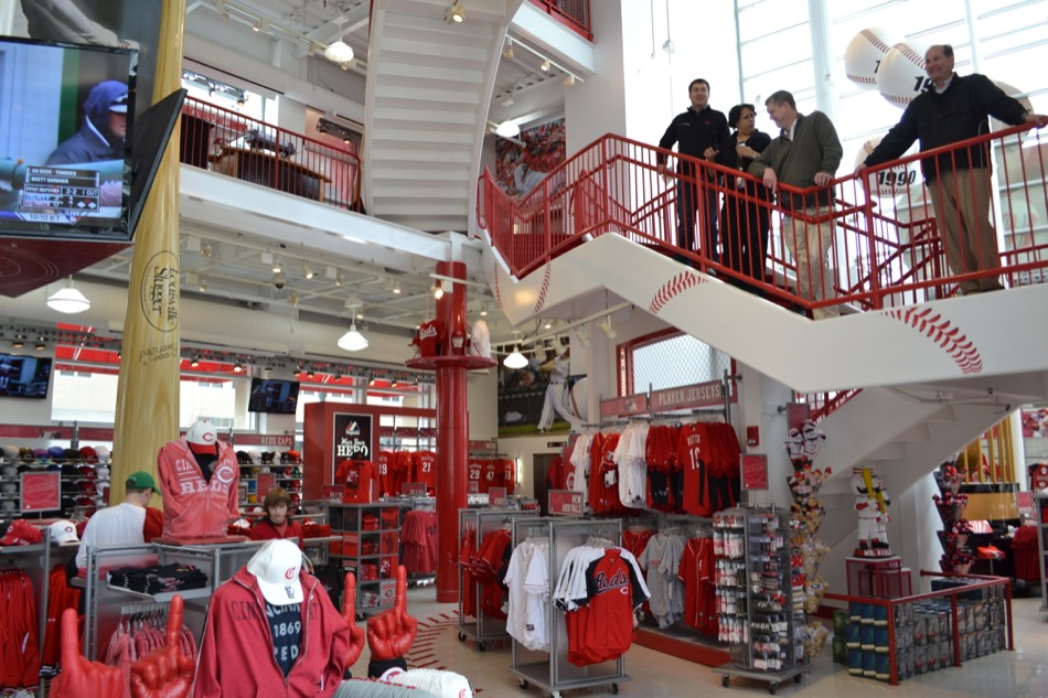 Great American Ball Park - Team Shop