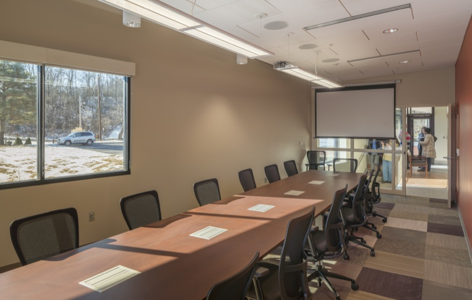 LADD offices interior conference room