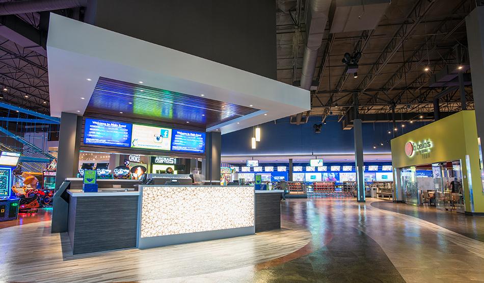 Main Event Entertainment interior