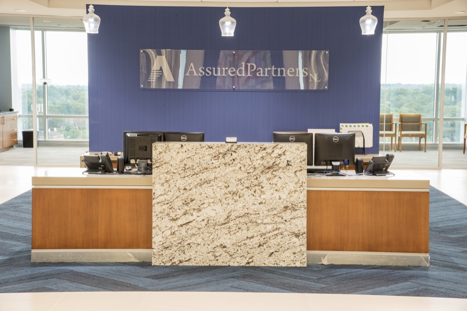 AssuredPartners NL welcome desk