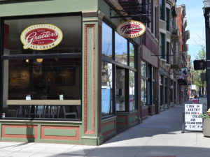 exterior of Graeter's in Over the Rhine