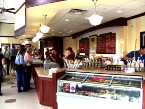 interior Fountain Square Graeter's