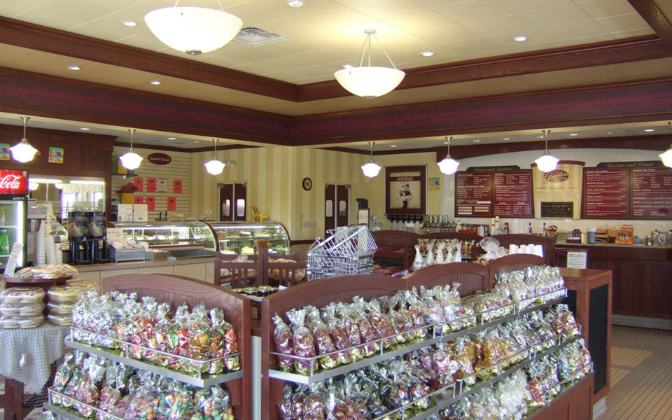 interior of Graeter's Deerfield Township