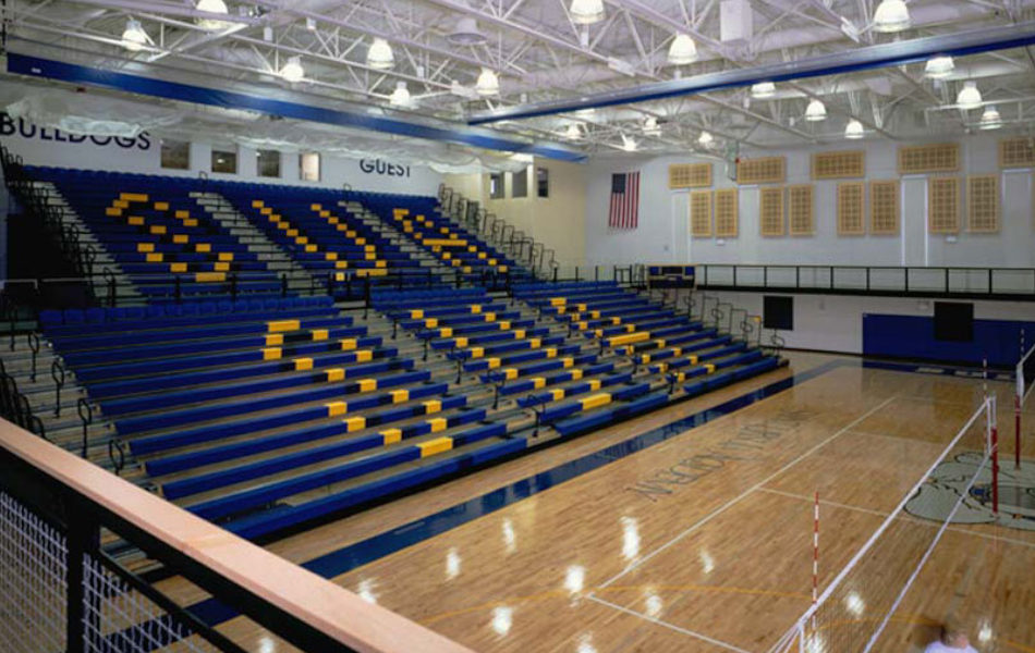 St. Ursula Academy gymnasium interior