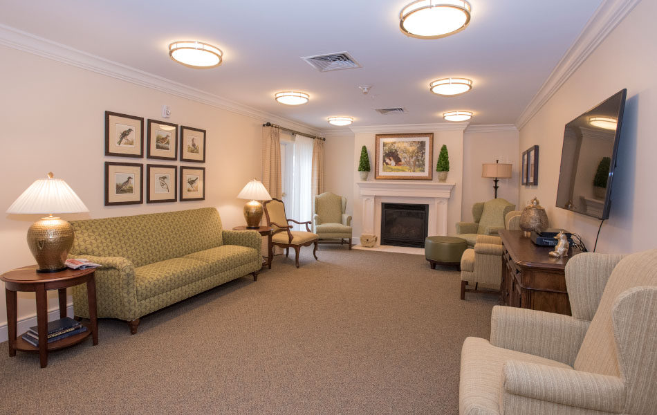 Artis Senior Living of Bridgetown sitting room