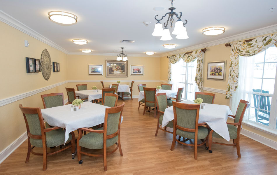 Artis Senior Living of Bridgetown dining area