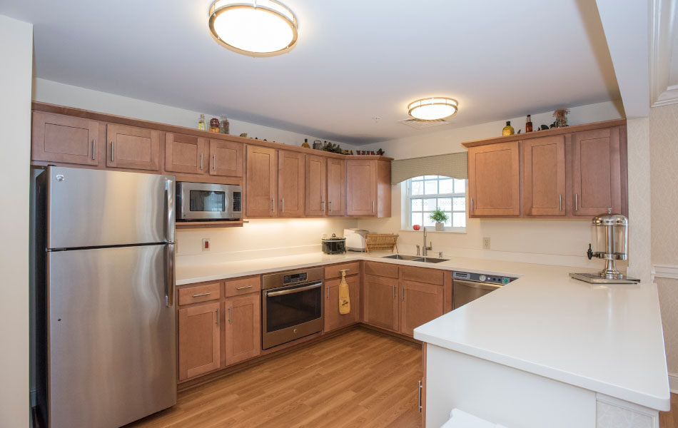 Artis Senior Living of Bridgetown guest kitchen