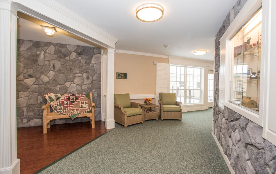 Artis Senior Living of Bridgetown hallway