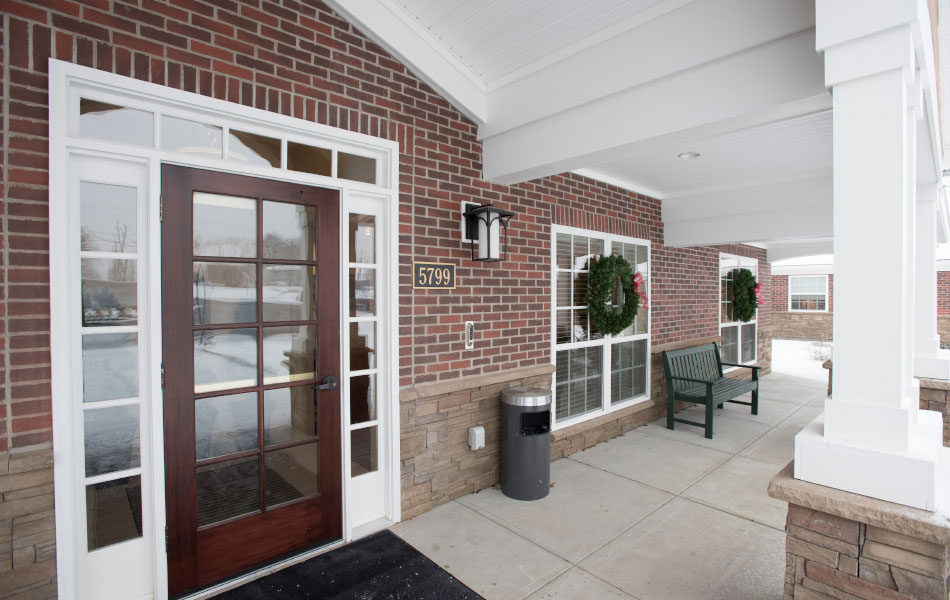 Artis Senior Living of Bridgetown front patio
