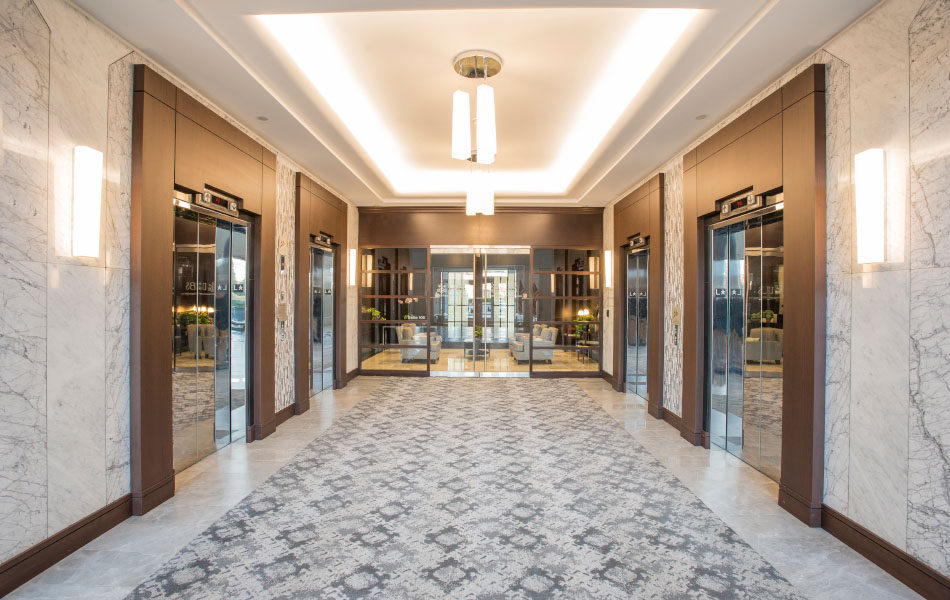 Towers of Kenwood elevator hub
