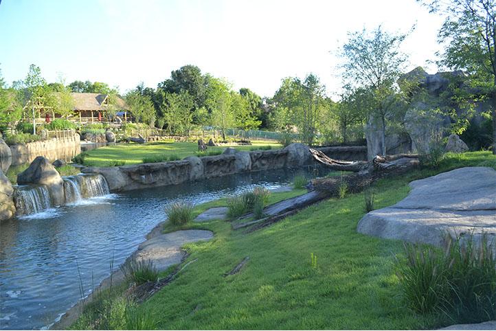 Cincinnati Zoo African Safari exterior landscape