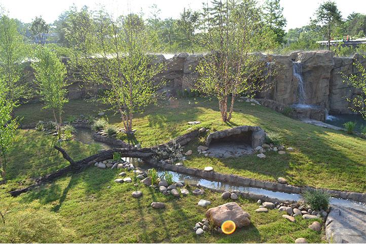 Cincinnati Zoo African Safari aerial view