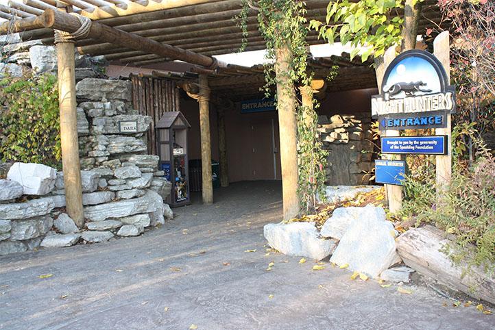 Cincinnati Zoo Night Hunters entrance