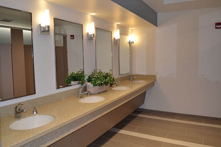 Hyde Park Community Methodist Church bathrooms