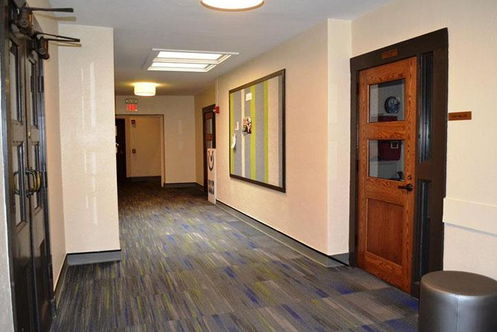 Hyde Park Community Methodist Church hallway