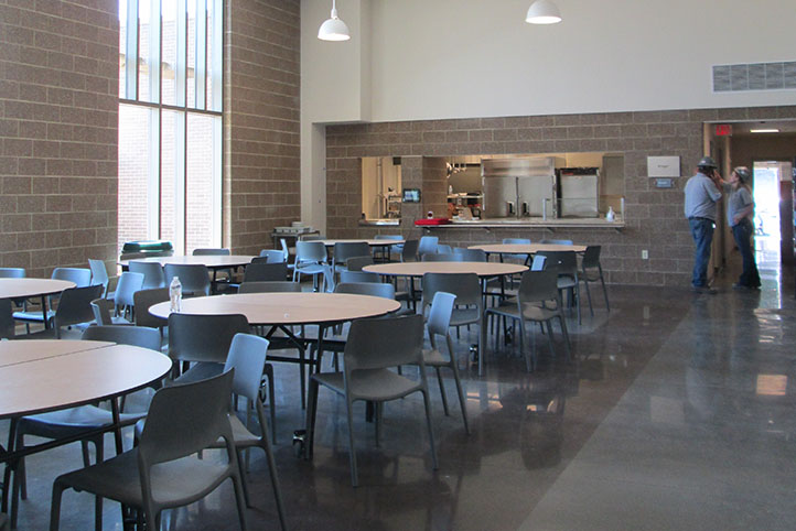 Hatton Center lunch room
